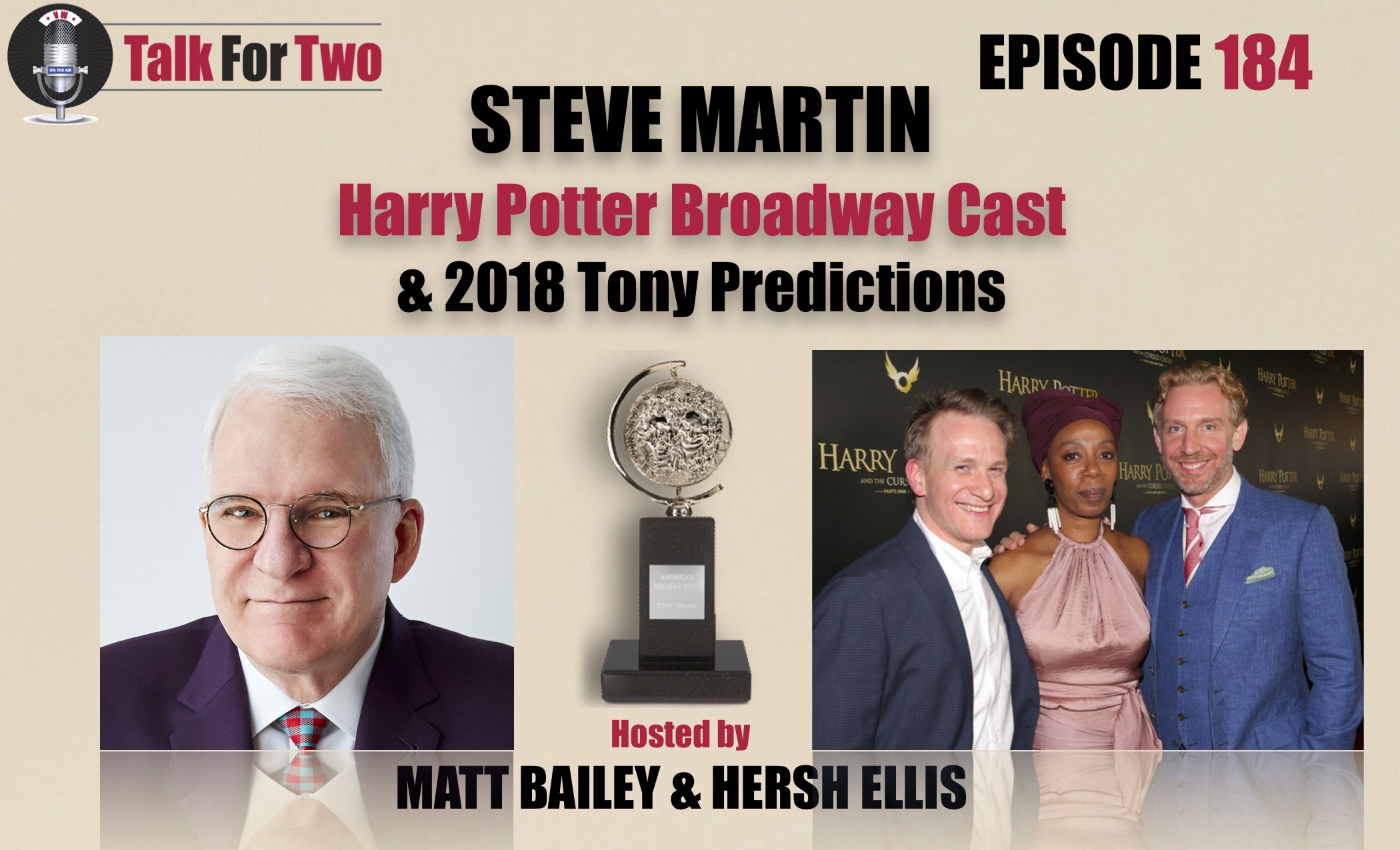 Steve Martin, Harry Potter and the Cursed Child