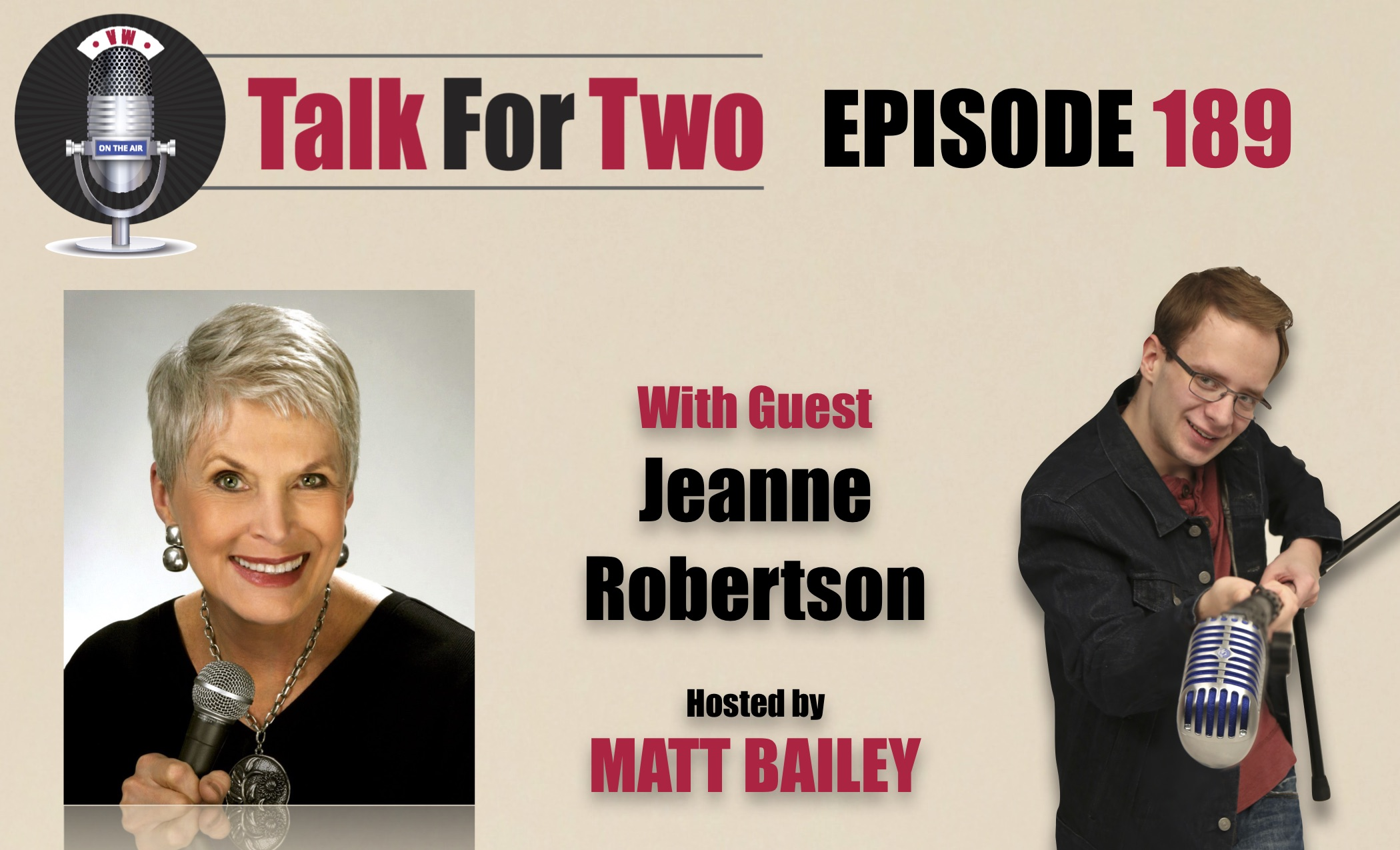 Jeanne Robertson, Matt Bailey, Talk For Two