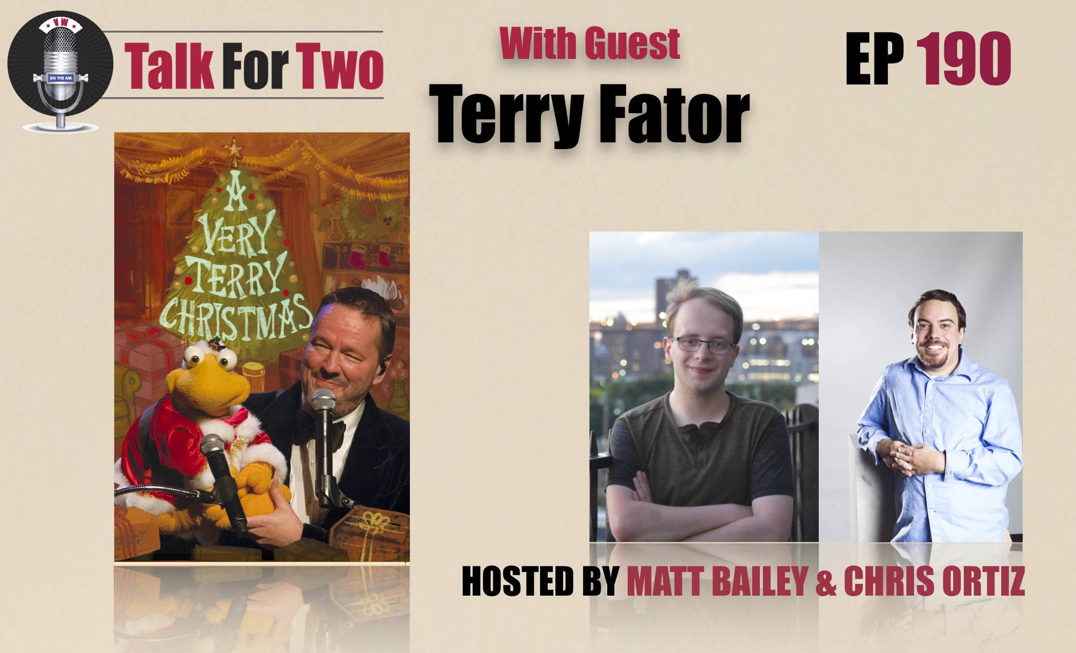 Terry Fator, Chris Ortiz, Matt Bailey
